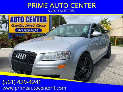 2007 Audi A3 for sale at PRIME AUTO CENTER in Palm Springs FL