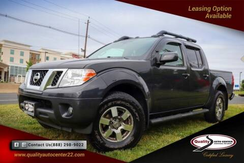 2013 Nissan Frontier for sale at Quality Auto Center of Springfield in Springfield NJ