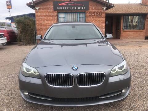 2013 BMW 5 Series for sale at Auto Click in Tucson AZ
