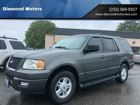2004 Ford Expedition for sale at Diamond Motors in Lakewood WA