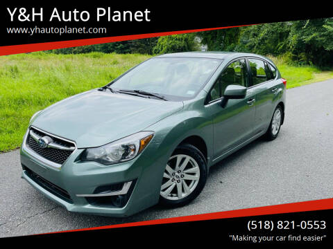 2015 Subaru Impreza for sale at Y&H Auto Planet in West Sand Lake NY