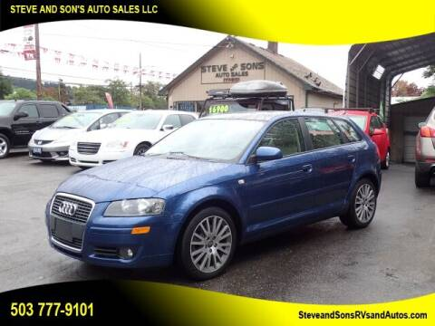 2008 Audi A3 for sale at Steve & Sons Auto Sales in Happy Valley OR