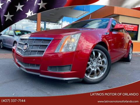 2009 Cadillac CTS for sale at LATINOS MOTOR OF ORLANDO in Orlando FL