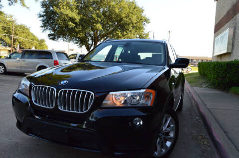 2013 BMW X3 for sale at E-Auto Groups in Dallas TX
