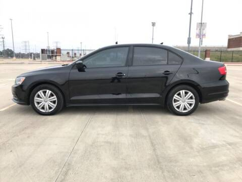 2015 Volkswagen Jetta for sale at ALL AMERICAN FINANCE AND AUTO in Houston TX