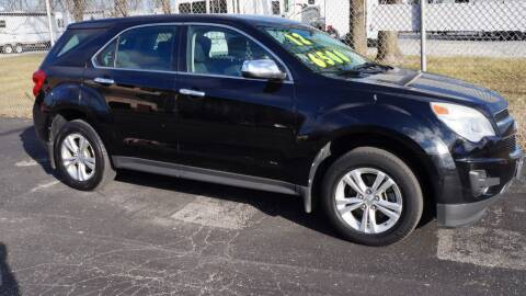 2012 Chevrolet Equinox for sale at G & R Auto Sales in Charlestown IN