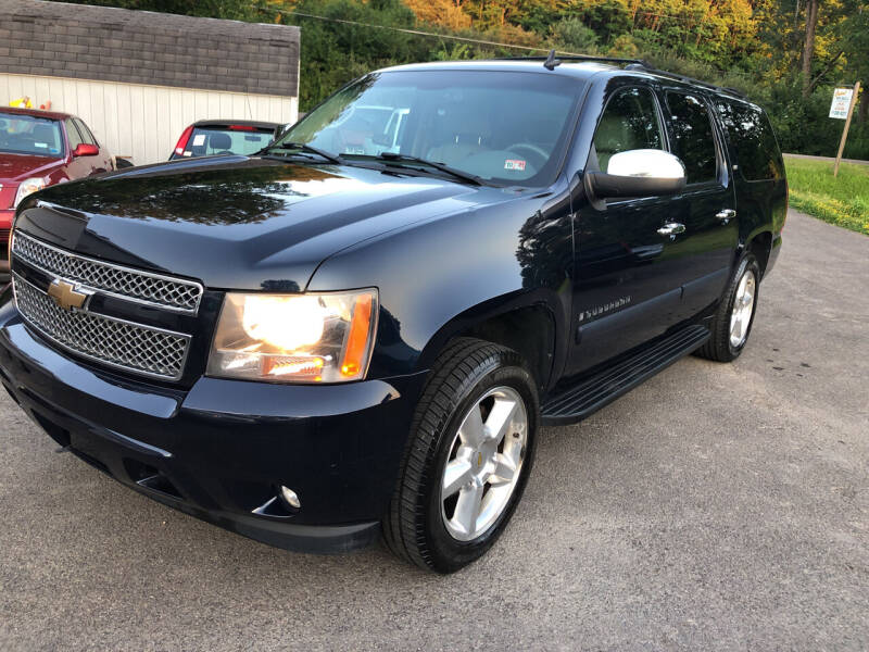 2007 Chevrolet Suburban for sale at CENTRAL AUTO SALES LLC in Norwich NY