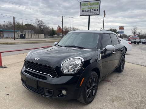 2013 MINI Countryman for sale at Shock Motors in Garland TX