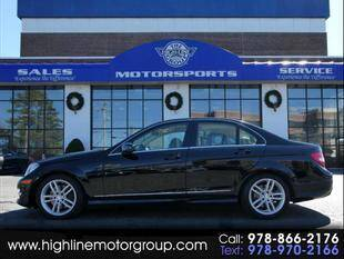 2013 Mercedes-Benz C-Class for sale at Highline Group Motorsports in Lowell MA