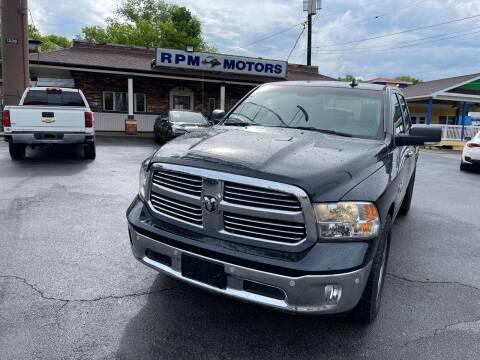 2016 RAM Ram Pickup 1500 for sale at RPM Motors in Nashville TN