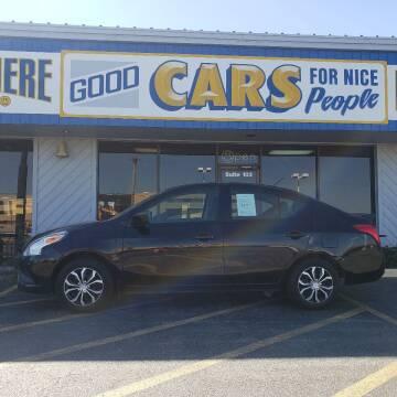 2016 Nissan Versa for sale at Good Cars 4 Nice People in Omaha NE
