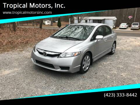 2009 Honda Civic for sale at Tropical Motors, Inc. in Riceville TN