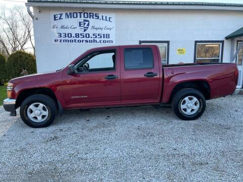 2005 GMC Canyon for sale at EZ Motors in Deerfield OH