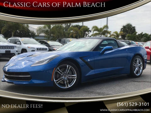 2016 Chevrolet Corvette for sale at Classic Cars of Palm Beach in Jupiter FL