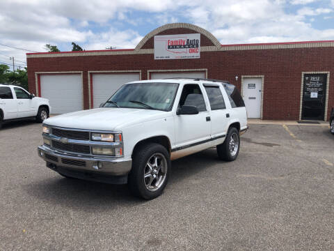 1998 Chevrolet Tahoe for sale at Family Auto Finance OKC LLC in Oklahoma City OK