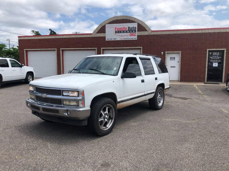 1998 Chevrolet Tahoe for sale at Family Auto Finance OKC LLC in Oklahoma City OK