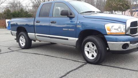 2006 Dodge Ram Pickup 1500 for sale at Jan Auto Sales LLC in Parsippany NJ