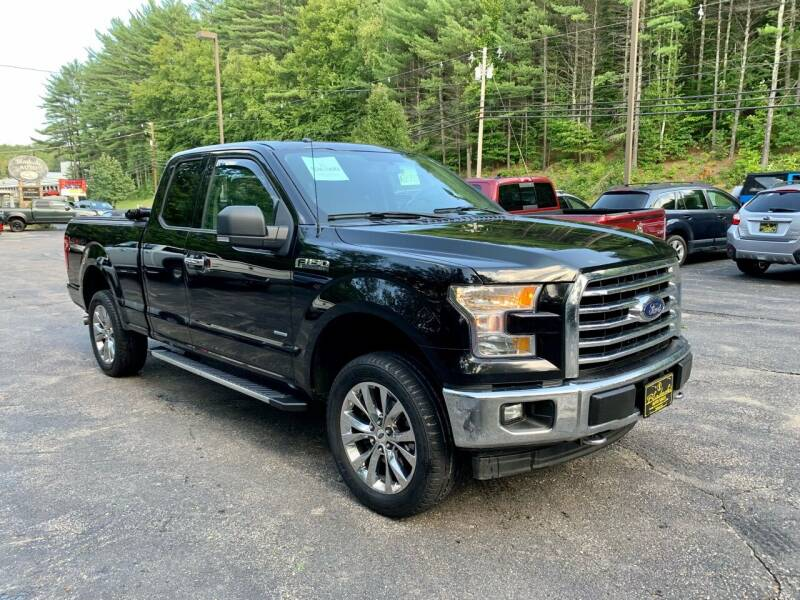 2017 Ford F-150 for sale at Bladecki Auto LLC in Belmont NH