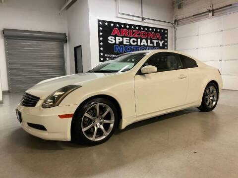2005 Infiniti G35 for sale at Arizona Specialty Motors in Tempe AZ