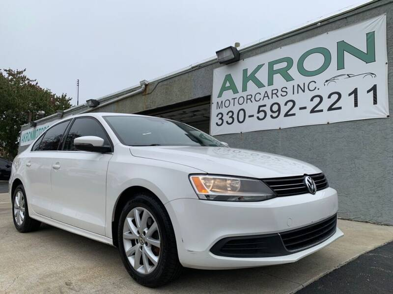2013 Volkswagen Jetta for sale at Akron Motorcars Inc. in Akron OH