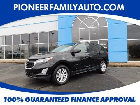 2019 Chevrolet Equinox for sale at Pioneer Family auto in Marietta OH