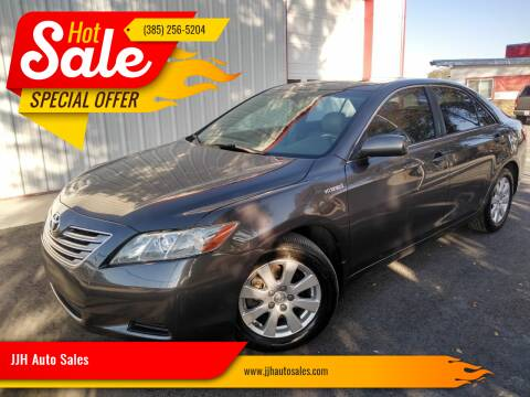 2007 Toyota Camry Hybrid for sale at JJH Auto Sales in Salt Lake City UT