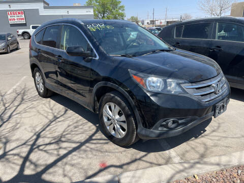 2012 Honda CR-V for sale at Legend Auto Sales in El Paso TX