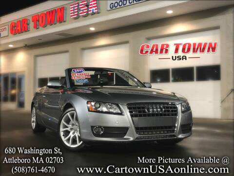 2011 Audi A5 for sale at Car Town USA in Attleboro MA
