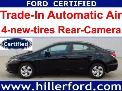 2014 Honda Civic for sale at HILLER FORD INC in Franklin WI