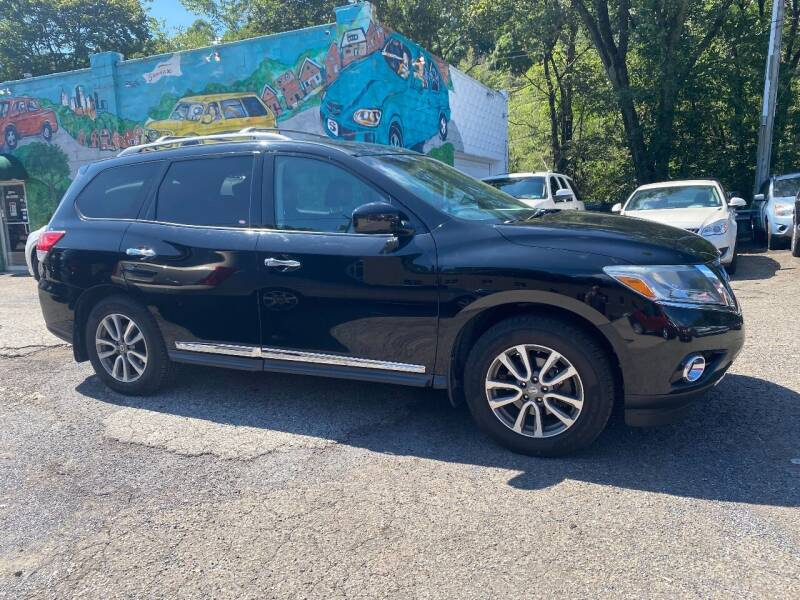 2013 Nissan Pathfinder for sale at Showcase Motors in Pittsburgh PA
