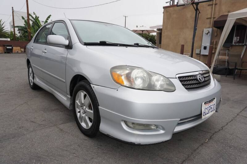 2008 Toyota Corolla for sale at Win Motors Inc. in Los Angeles CA