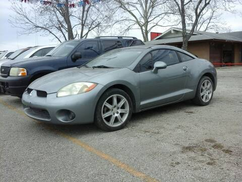 2007 Mitsubishi Eclipse for sale at John 3:16 Motors in San Antonio TX