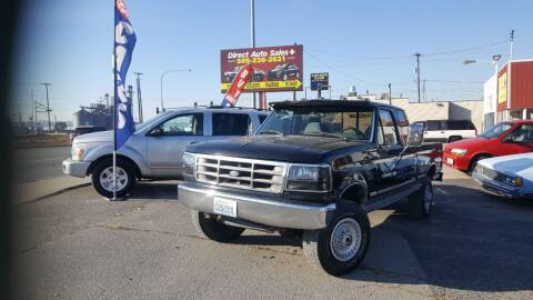 1997 Ford F-250 for sale at Direct Auto Sales+ in Spokane Valley WA