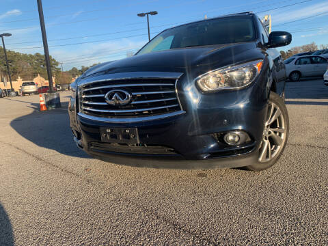 2015 Infiniti QX60 for sale at Trust Autos, LLC in Decatur GA