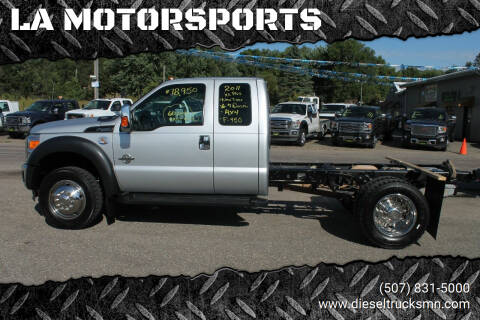 2011 Ford F-450 Super Duty for sale at LA MOTORSPORTS in Windom MN