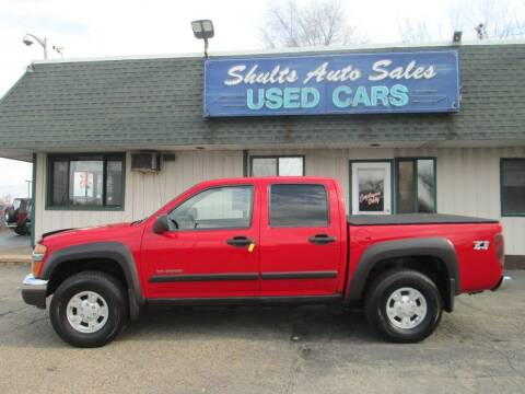 2004 Chevrolet Colorado for sale at SHULTS AUTO SALES INC. in Crystal Lake IL