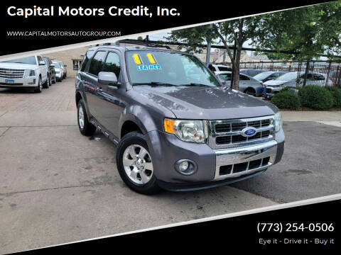 2011 Ford Escape for sale at Capital Motors Credit, Inc. in Chicago IL