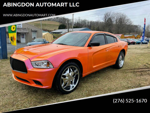 2012 Dodge Charger for sale at ABINGDON AUTOMART LLC in Abingdon VA