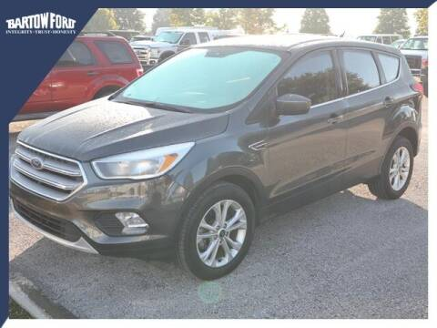 2019 Ford Escape for sale at BARTOW FORD CO. in Bartow FL