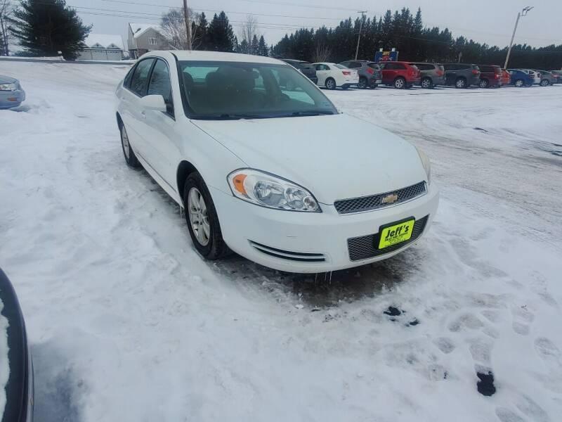 2013 Chevrolet Impala for sale at Jeff's Sales & Service in Presque Isle ME