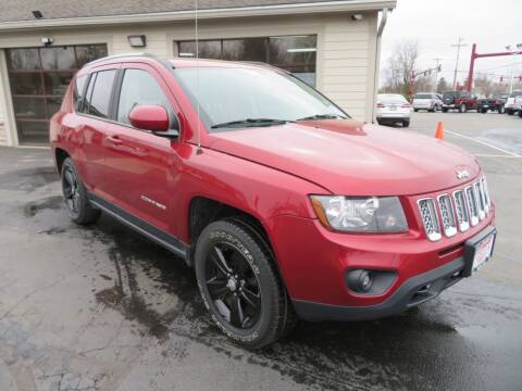 2015 Jeep Compass for sale at Tri-County Pre-Owned Superstore in Reynoldsburg OH