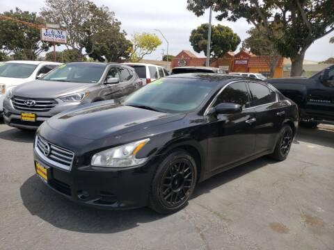 2013 Nissan Maxima for sale at L & M MOTORS in Santa Maria CA