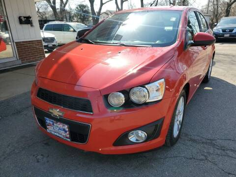 2012 Chevrolet Sonic for sale at New Wheels in Glendale Heights IL