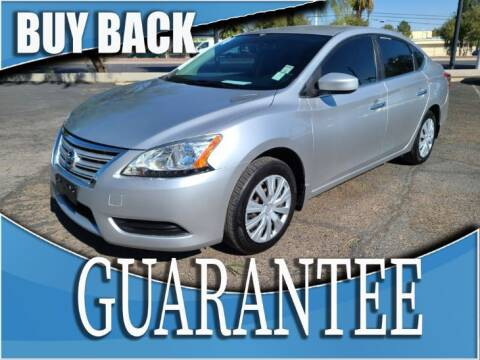 2014 Nissan Sentra for sale at Reliable Auto Sales in Las Vegas NV