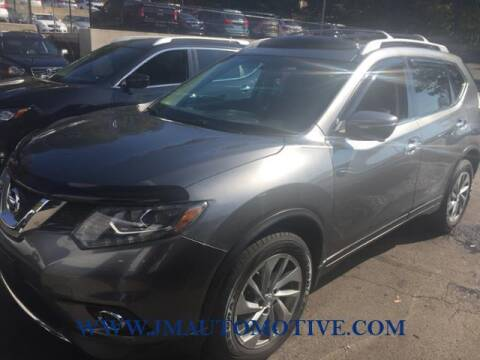 2014 Nissan Rogue for sale at J & M Automotive in Naugatuck CT