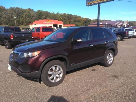 2012 Kia Sorento for sale at Superior Auto of Negaunee - Pepp Motors in Marquette MI