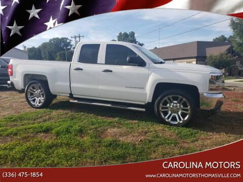2016 Chevrolet Silverado 1500 for sale at CAROLINA MOTORS in Thomasville NC