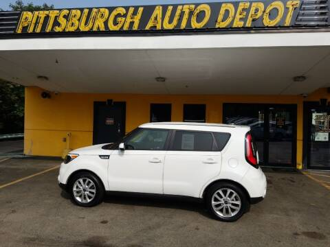 2018 Kia Soul for sale at Pittsburgh Auto Depot in Pittsburgh PA