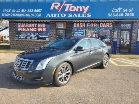 2013 Cadillac XTS for sale at R Tony Auto Sales in Clinton Township MI