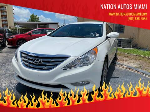 2012 Hyundai Sonata for sale at Nation Autos Miami in Hialeah FL